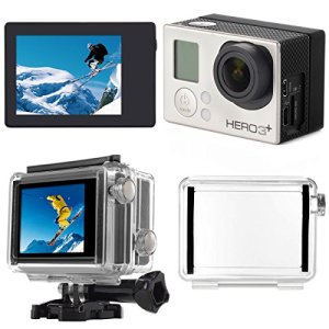 XCSOURCE LCD Screen BacPac Display + Back Door Case Cover for Gopro Hero 3+/ 4 OS329 12