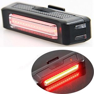Agua resistente 100 lúmenes Super Bright USB recargable bicicleta luz trasera calle montaña niños bicicleta luz LED trasero con bicicleta de Monte luz roja 4