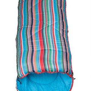 Mountain Warehouse Saco de dormir con estampado a cuadros Apex Mini 4