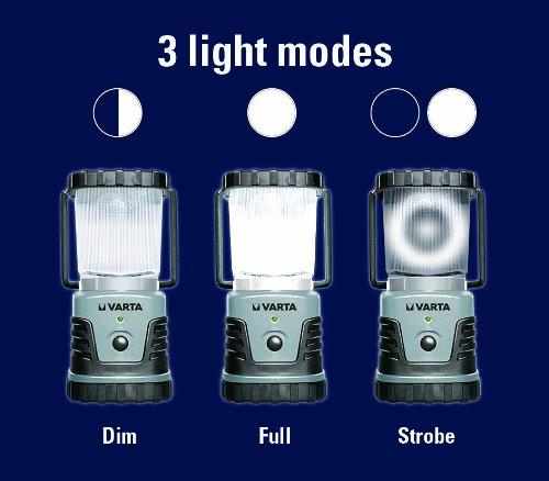 Campingleuchte, LED-Licht, LEDs: 1, Kunststoffgehäuse, 2