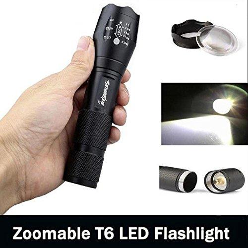 flashlight led vovotrade 3500 Lumen 5 modos del XM-L T6 LED de la antorcha de gran alcance 18650 luz de la lámpara de la linterna 2