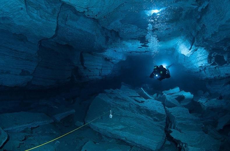 Orda Cave World's Longest Underwater Gypsum Cave in Russia