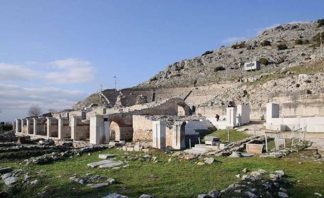 Sitio arqueológico de Filippi, Grecia