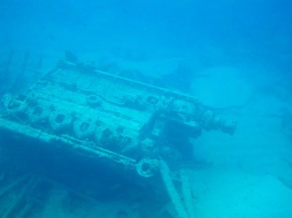 Shipwreck in Grand Cayman Island