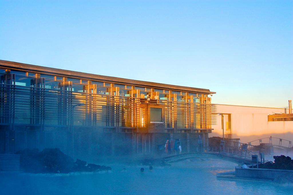 The Blue Lagoon building