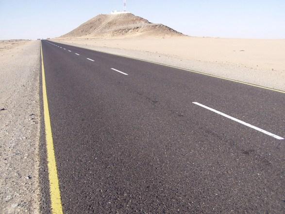 Road to Rub' al Khali