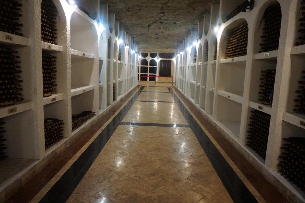Ciudad vinícola subterránea de Moldavia