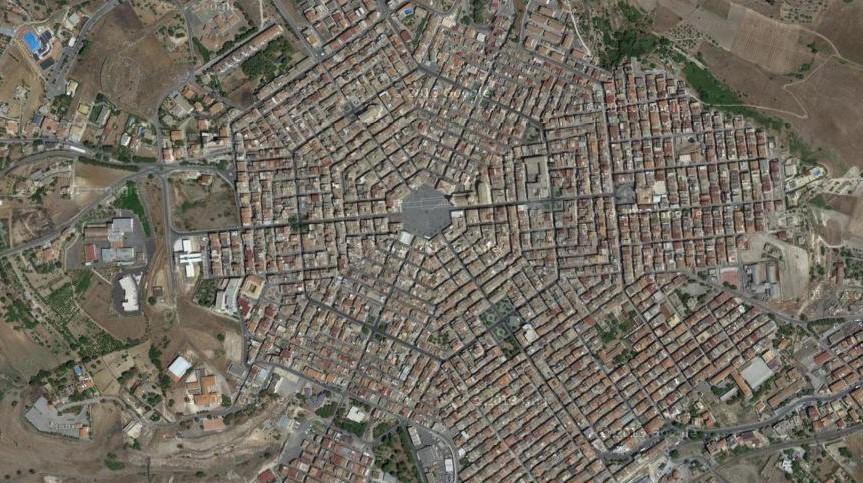 Grammichele: La Ciudad Italiana Hexagonal