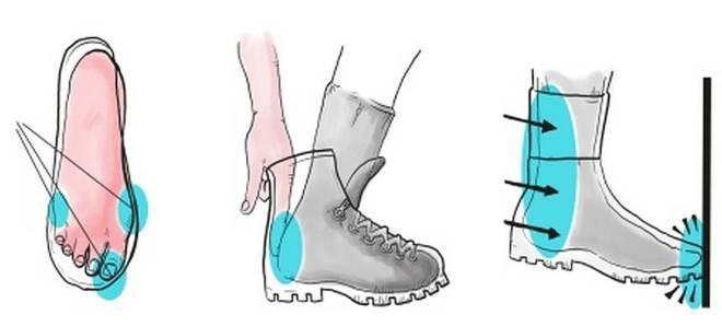 Cómo encajar botas de senderismo