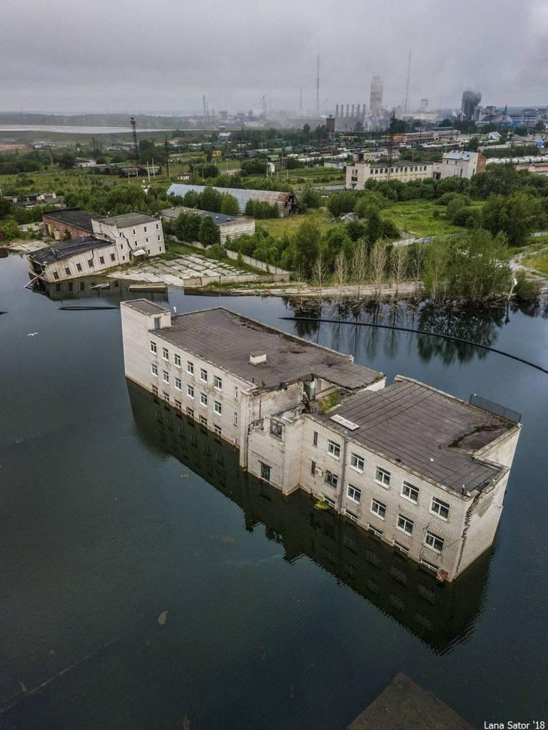 Berezniki: La ciudad rusa tragada por sumideros 9