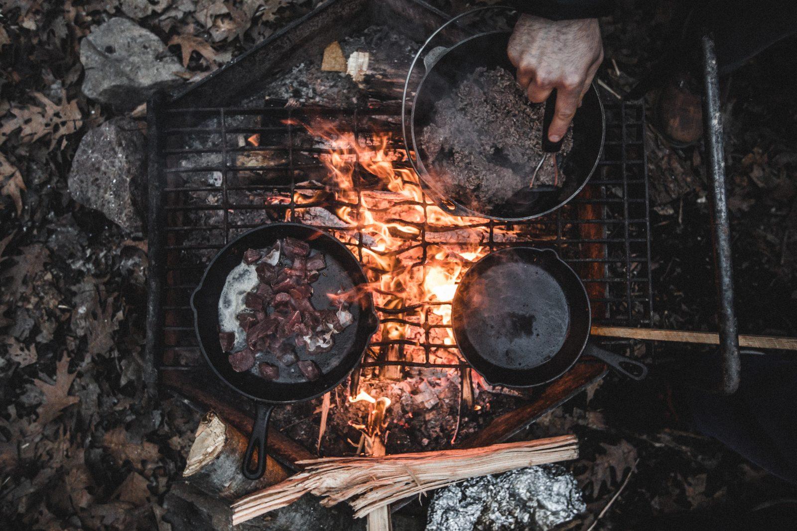 Mejores conjuntos de utensilios de cocina para mochileros