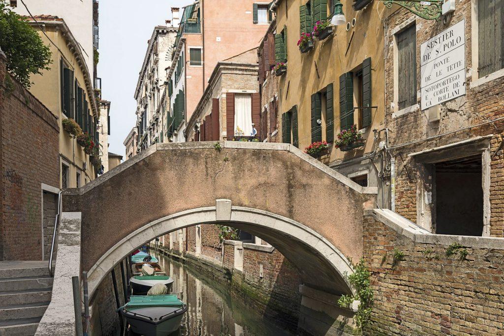 Ponte delle Tette en Venecia (El puente de las tetas)