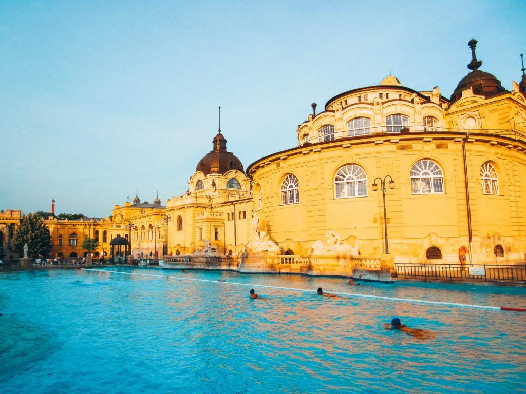 Aguas termales en Budapest