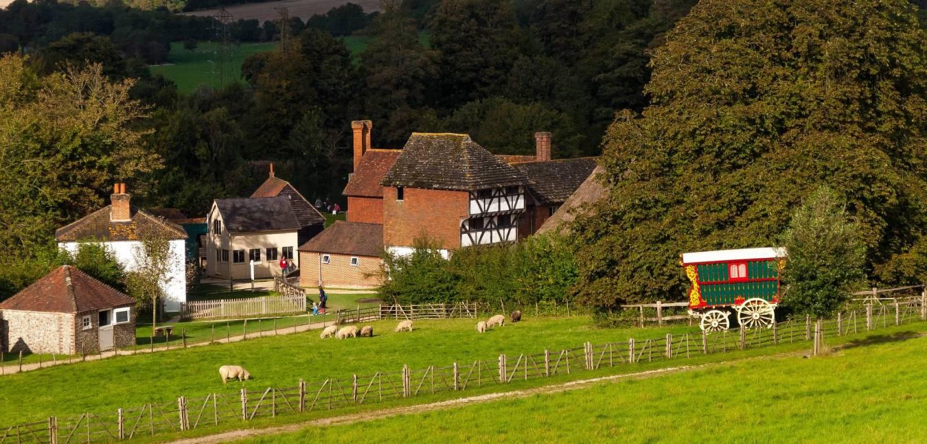Weald and Downland Living Museum: Museo que colecciona casas 1