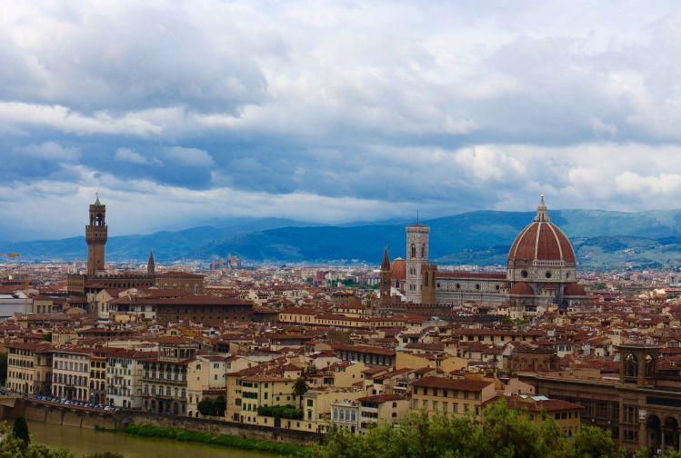 Florencia, puente en Italia