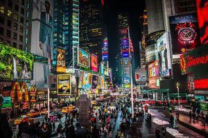 Perdido en Nueva York, Times Square