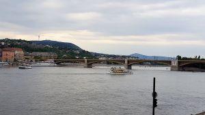 Embarcaciones en el Danubio
