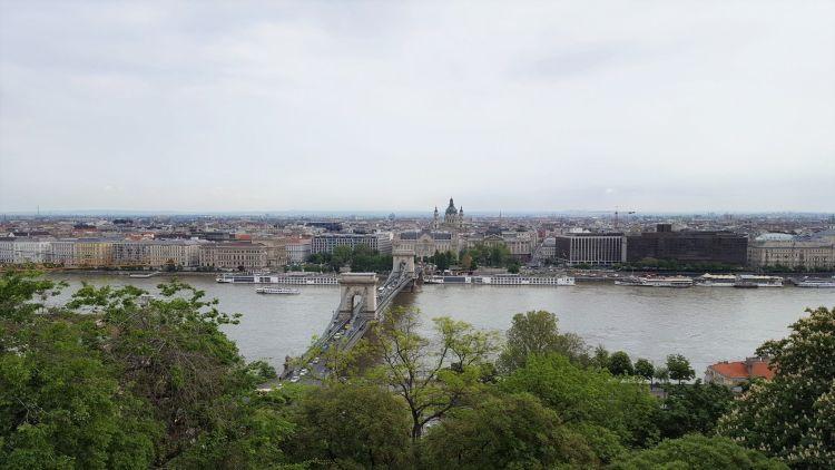 El Danubio en Budapest