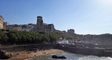 Playa de Port Vieux Biarritz