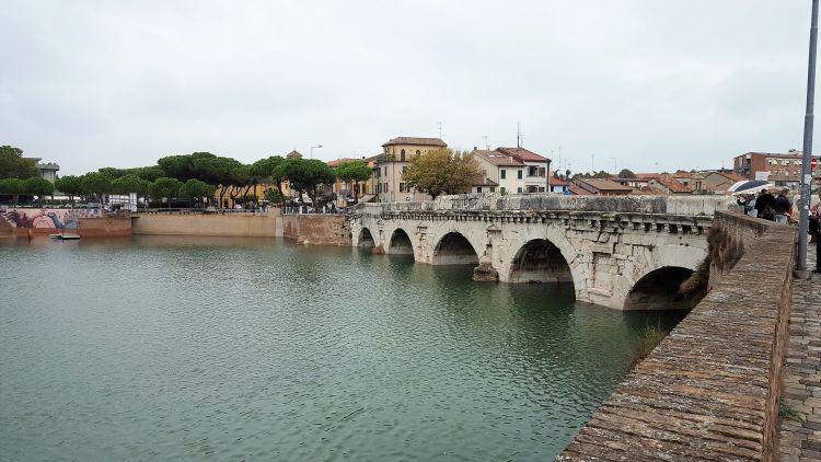 Rimini -Puente de Tiberio