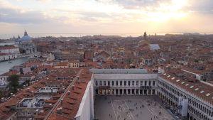 Vista de Venecia desde el Campanile