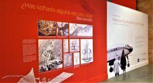 Entrada a la exposición de Iberia