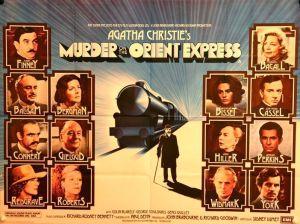 Cartel de Asesinato en el Orient Express 1974