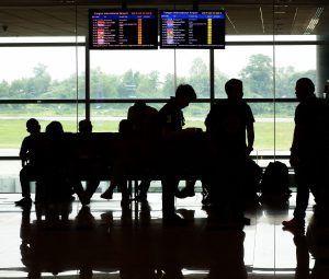 Aeropuerto sala espera