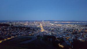 Vistas de San Francisco desde Twin Peaks