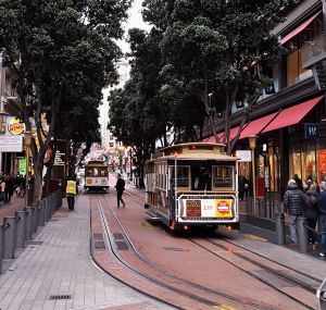 Moverse en San Francisco Cable Car