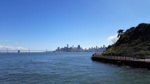 Vistas de San Francisco desde Alcatraz