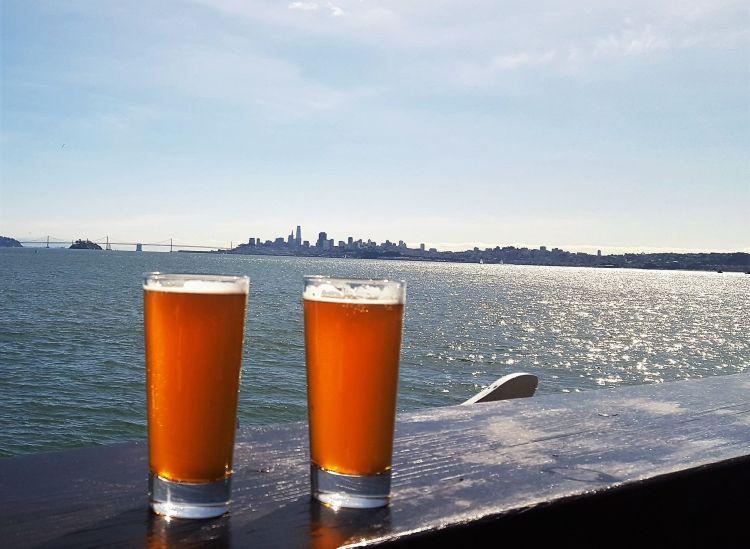 Cervezas en San Francisco Sausalito