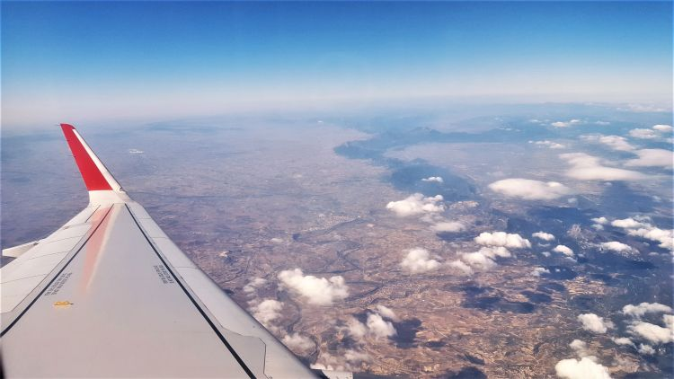 caos aéreo espacio aéreo