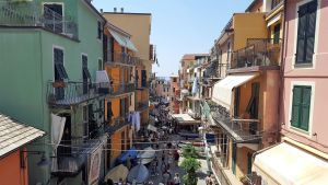 Cinque Terre, calles de Vernazza