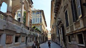 Avenida Garibaldi en Génova