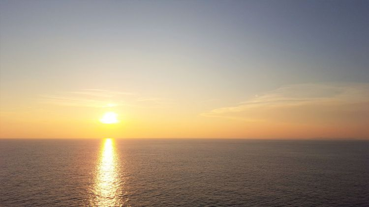 Atardecer en el Mediterráneo