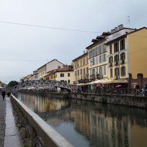 Barrio de Navigli en Milán