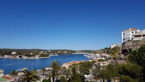 Puerto de Mahón en Menorca