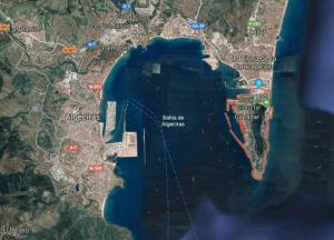 Gibraltar en Google Maps