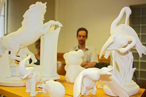 Herend porcelana figuras Hungría