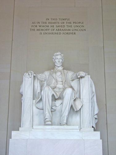 Lincoln Monument Washington