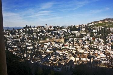 Vistas barrio Albaycín Alhambra Granada