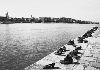 Zapatos judíos memorial Danubio Budapest