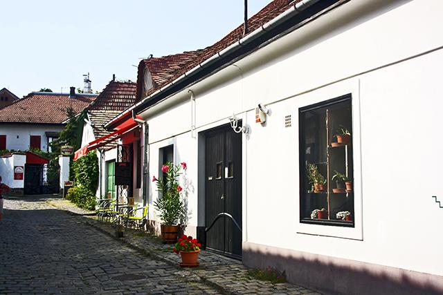 Centro histórico empedrado Szentendre