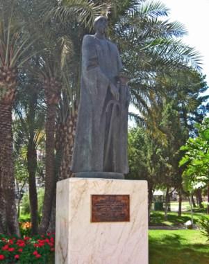 Escultura Abderramán II Murcia
