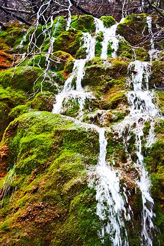 Cascada río Cuervo Sierra Cuenca