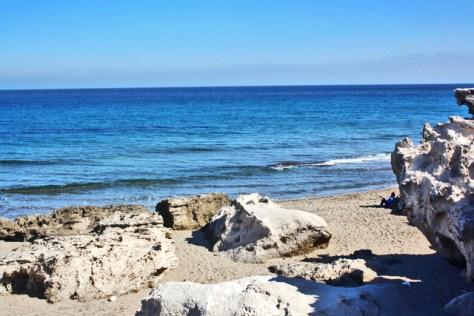 Playa Los Escullos Parque Natural Cabo de Gata Almería