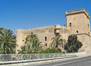 Alcasser de la Senyoria o tambe conegut com el Palau dAltamira al centre historic de la ciutat