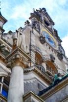 Reloj decoración barroca ayuntamiento nuevo annover