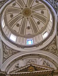 Decoración cúpula capilla San Pedro Valencia